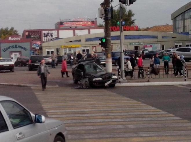 ДТП на ул.Полежаева: водитель «восьмёрки» был пьян