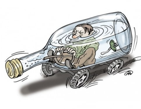 В Мордовии за два дня остановили 50 пьяных водителей