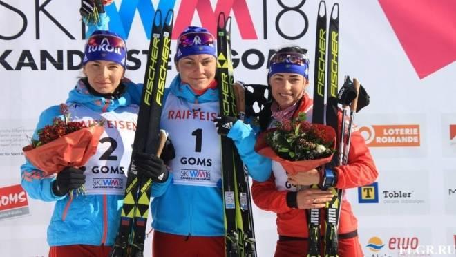 Мордовская лыжница привезла «золото» с первенства мира