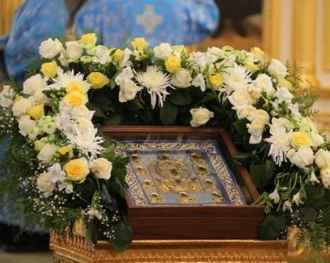 В Саранске к чудотвоной иконе «Знамение» дети и старики могут пройти вне очереди