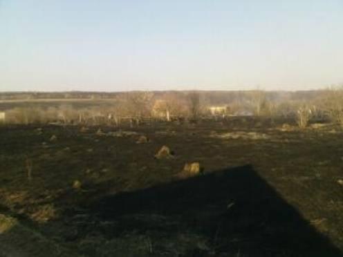 На границе Мордовии и Рязанской области сгорело 30 строений