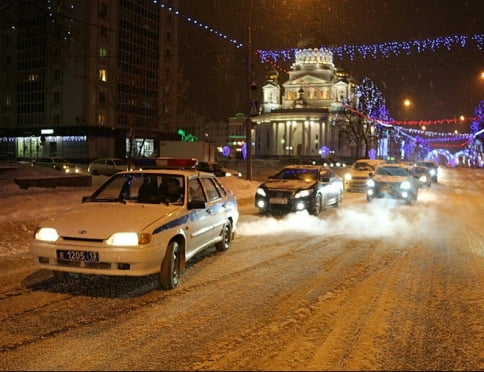 Сегодня в Саранске водители колонной проедут следом за «Неупиваемой чашей»