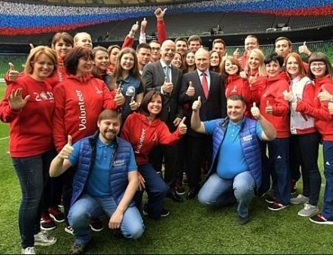 Волонтёр из Саранска встретилась с Путиным и провела футбольный урок в Краснодаре