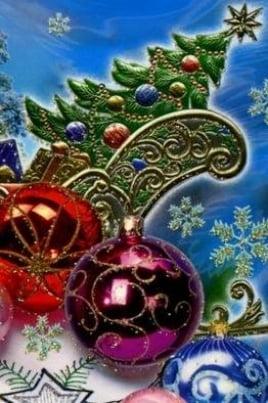 Новый год приглашает в хоровод постер