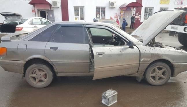 Житель Мордовии пострадал, пытаясь спасти загоревшуюся машину