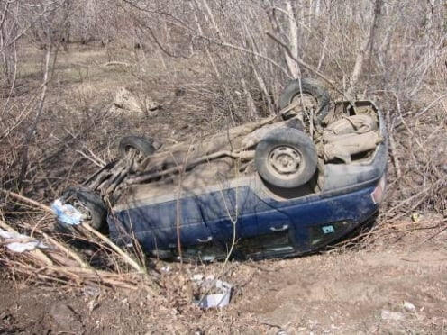 В Мордовии водитель иномарки погиб в кювете