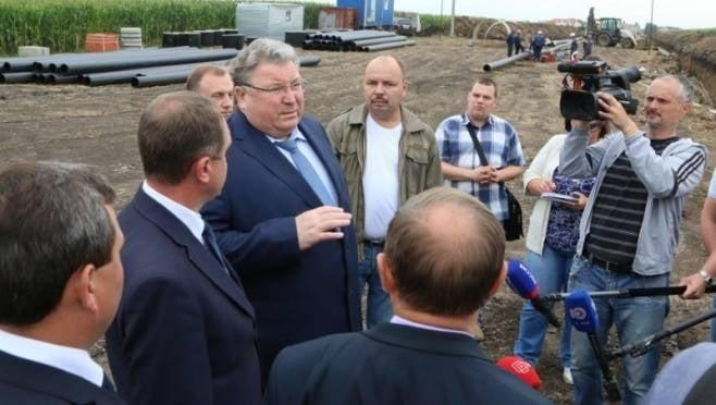 Строительство нового водозабора в Чамзинке проинспектировал Владимир Волков