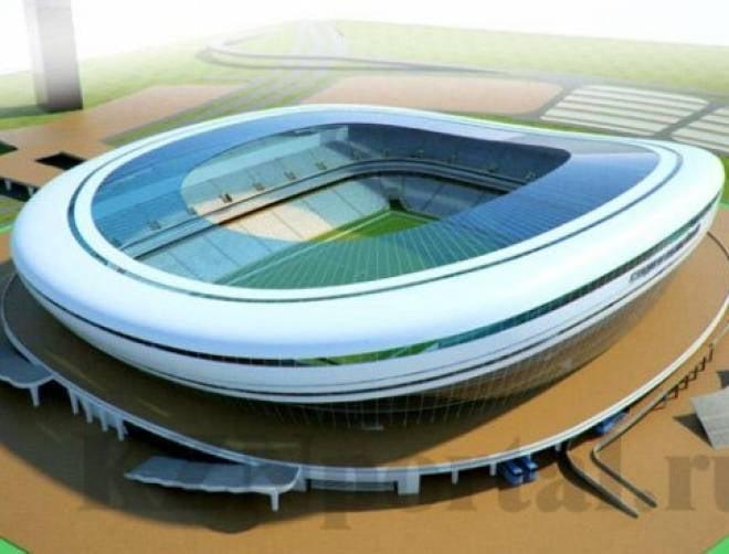 Вокруг строящегося к ЧМ-2018 стадиона наведут красоту