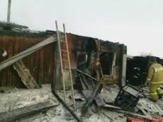В Мордовии в пожаре погибли трое