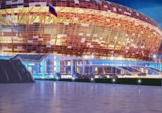 Владимир Волков: Наша задача —  не снижать темпов строительства футбольной арены