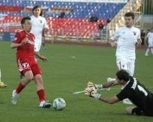 «Мордовия» на своем поле уверенно обыграла «Аланию»