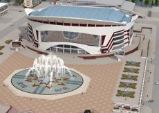 До осени Универсальный зал в Саранске обретёт своё лицо