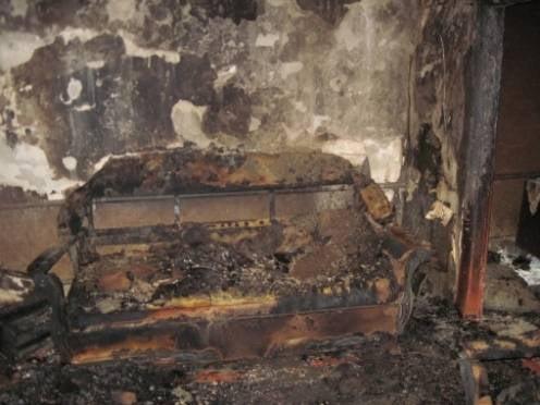 В Мордовии собутыльники чуть не погибли в огне