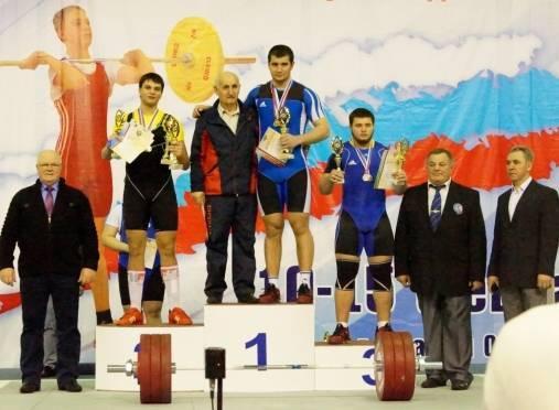 Павел Жуков дважды поднялся на пьедестал первенства России