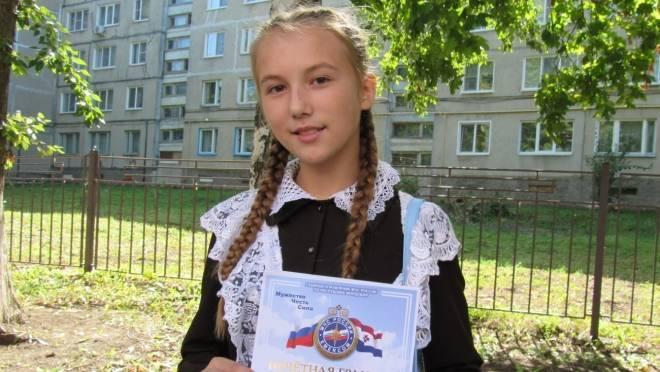 Шестиклассница из Саранска спасла 17-летнего парня от гибели