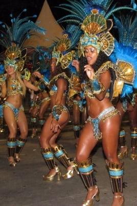 Карнавал в Рио постер