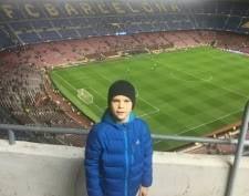 Юного футболиста из Саранска пригласили в школу «Барселоны»