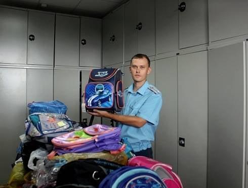 Школьникам Донбасса привезут ранцы из Мордовии