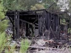 В сгоревшем дачном домике найден труп