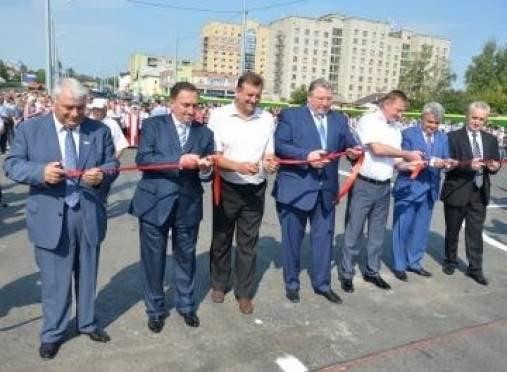 В Саранске состоялось долгожданное открытие дороги Химмаш-Юго-Запад