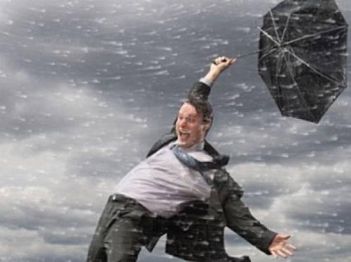 Сегодня  в Мордовии ожидается шквальный ветер и дождь