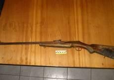 Жительница Мордовии во время уборки нашла винтовку