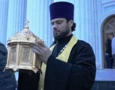 Ковчег с мощами Феодора Ушакова прибыл из Мордовии в Крым