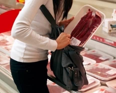 В Саранске похитительница продуктов «прикрывалась» ребенком