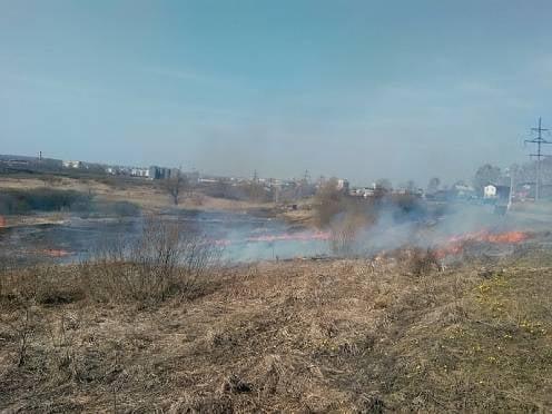 В Мордовии огонь едва не уничтожил школу, дома и кладбище