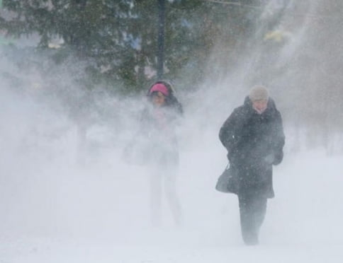 Сегодня в Саранске ожидается сильный ветер и метель