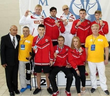 Литовская вода шесть раз покорилась мордовским спортсменам