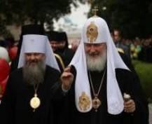 Патриарх Кирилл освятил в Саранске новый храм Казанской иконы Божьей матери