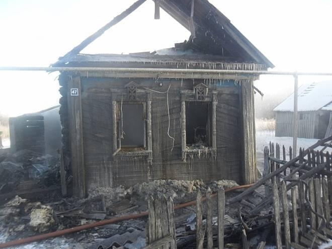 Пожар в Мордовии: следователи выясняют все обстоятельства гибели в огне
