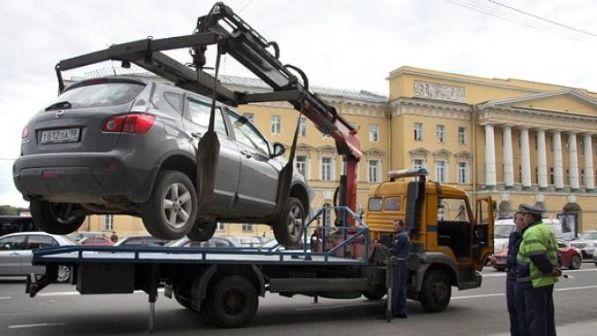 Оптимальный способ перемещения авто, имеющего серьезные неисправности