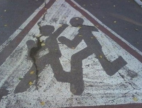 В Саранске водитель легковушки сбил двух девочек на переходе