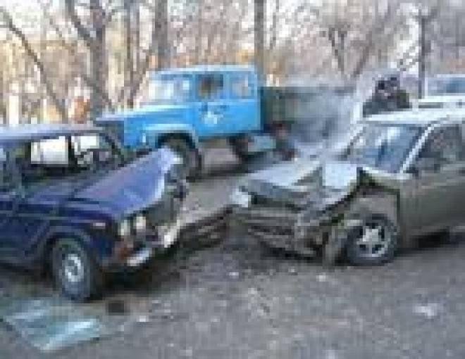 В Саранске пассажирский ПАЗик стал виновником ДТП, в котором пострадало пять машин