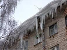 Сосульки на крышах в Саранске - под контролем
