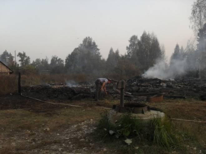 По факту пожара в Свеженькой проводится проверка