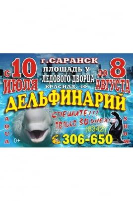 Дельфинарий постер