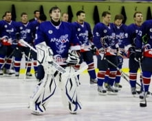 Хоккеисты из Марий-Эл пострадали в Мордовии из-за гололеда