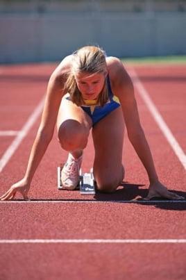 Финальные соревнования по легкой атлетике постер