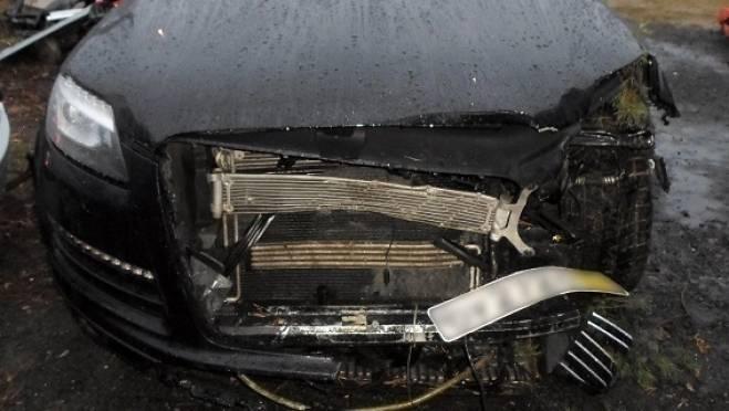 В Саранске водитель «Daewoo Nexia» врезался в «Audi Q7» и пошел в больницу