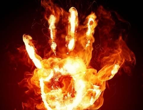 В Атяшевском районе дочь не дала отцу заживо сгореть