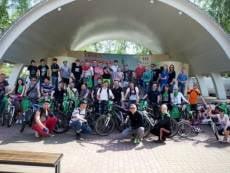 Велосипедисты Саранска приобщились к высоким технологиям