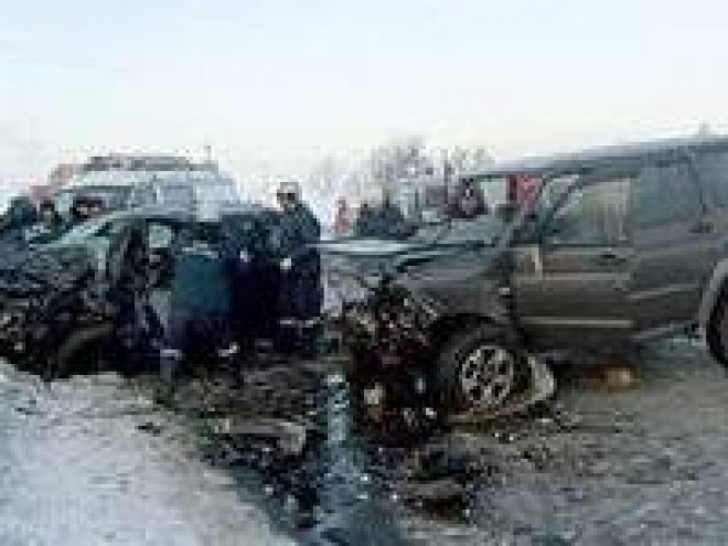 При столкновении трех машин в Мордовии погиб человек