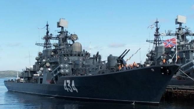 Делегацию Мордовии ждут на эсминце «Адмирал Ушаков»
