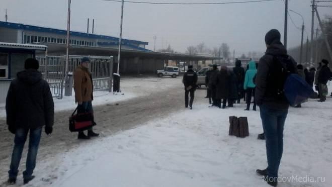 Очевидец: с автовокзала в Саранске эвакуировали пассажиров и персонал