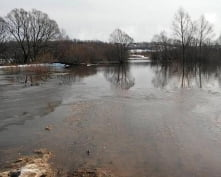 Паводок в Мордовии: вода начинает уходить