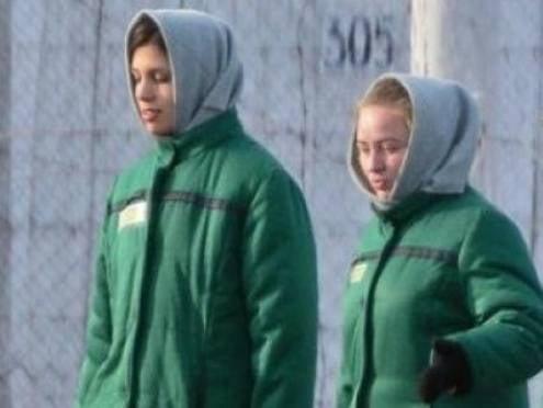 На зоне в Мордовии борются с вредными привычками Pussy Riot