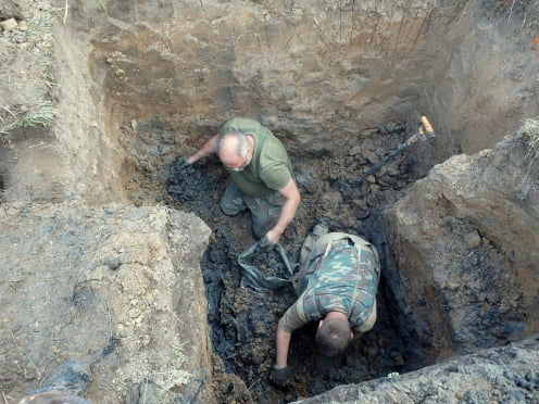 В Калужской области нашли останки двух красноармейцев из Мордовии